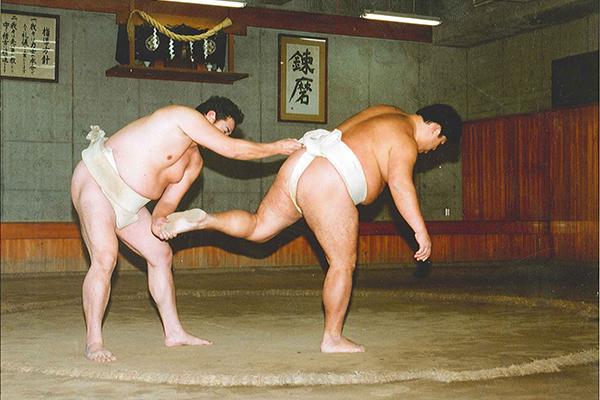 相撲 褄取り